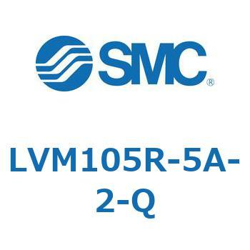 SMC LVM105R-5A-Q Solenoid Valve for Chemicals 2//3 Port