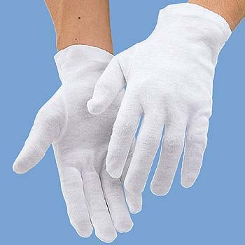 1001 品質管理用作業手袋 綿スム...