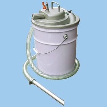 APPQO400 ペール缶用エアバキュームクリーナー アクアシステム 06960107