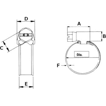 S-Hoop ASH136 13 inch 6 Lug