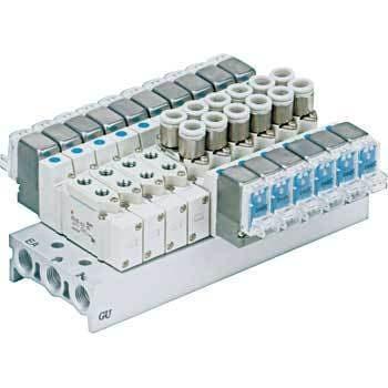 Hydraulics, Pneumatics, Pumps & Plumbing Business & Industrial Smc Sy5120-5lou-c6f-f2-q 5 Port Solenoid Valve