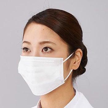通販 50枚入 女性用 医療・検査用 サージカルマスク マスク アズワン