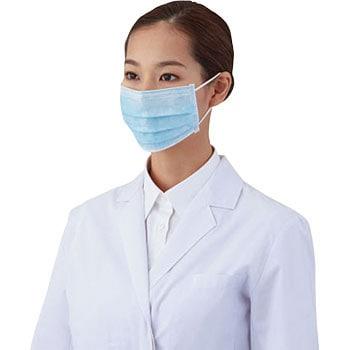 マスク 3層タイプ サージカルマスク 通販 アズワン Mm-76 医療・検査用