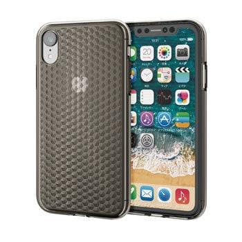 7c75afbea3 PM-A18CUCJBK iPhone XR/ソフトケース/ダイヤモンドカット 1個 エレコム ...