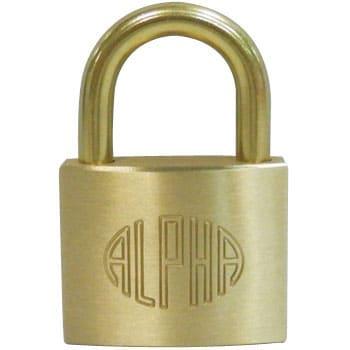 AL-005 #1000 アルファ南京錠 アルファ 32909265