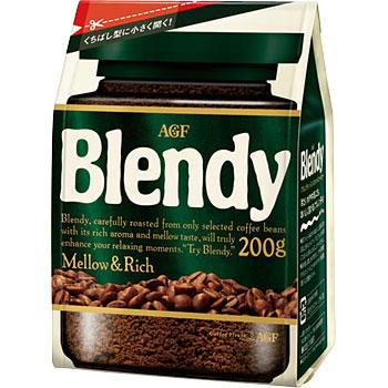ブレンディ インスタントコーヒー詰替 1袋(200g) AGF 【通販 ...