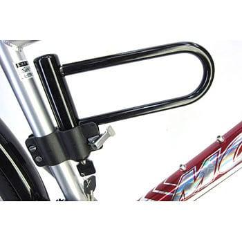 自転車 u字ロック ブラケット