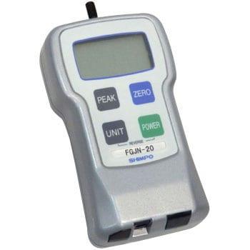 FGJN-20 デジタルフォースゲージ 1台 SHIMPO(日本電産シンポ) 【通販モノタロウ】 37993733