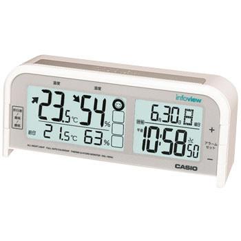 7572d17a56 DQL-100NJ-7JF 生活環境お知らせ(湿・温度計)電波置時計 1台 カシオ ...