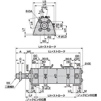 CKD SCM-FA-32D-50-T3V-D-ZI スーパーマイクロシリンダ