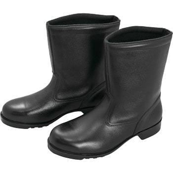Rubber bottom safety shoes half boots