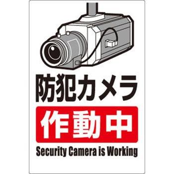 防犯 カメラ 作動 中