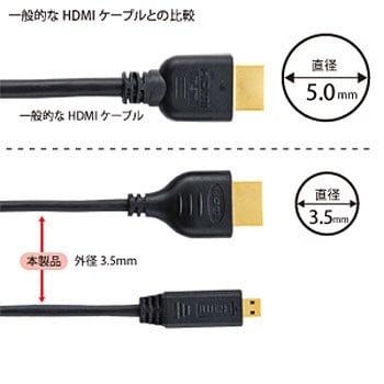 マイクロ hdmi ケーブル