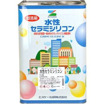 水性セラミシリコン 調色対応品 エスケー化研 多用途 【通販モノタロウ】 SK1001