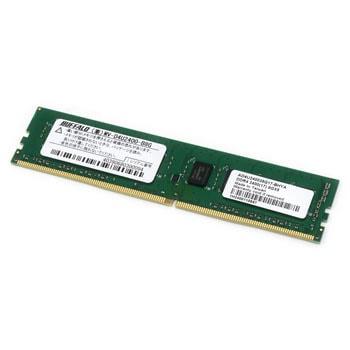 送料無料! 1枚 PC4-2400対応288ピン バッファロー DDR4 SDRAM DIMM 4GB MV-D4U2400-S4G