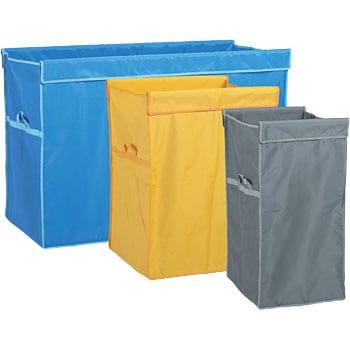 【袋】 イエロー 360L用 リサイクル用システムカート収納袋 【替袋】